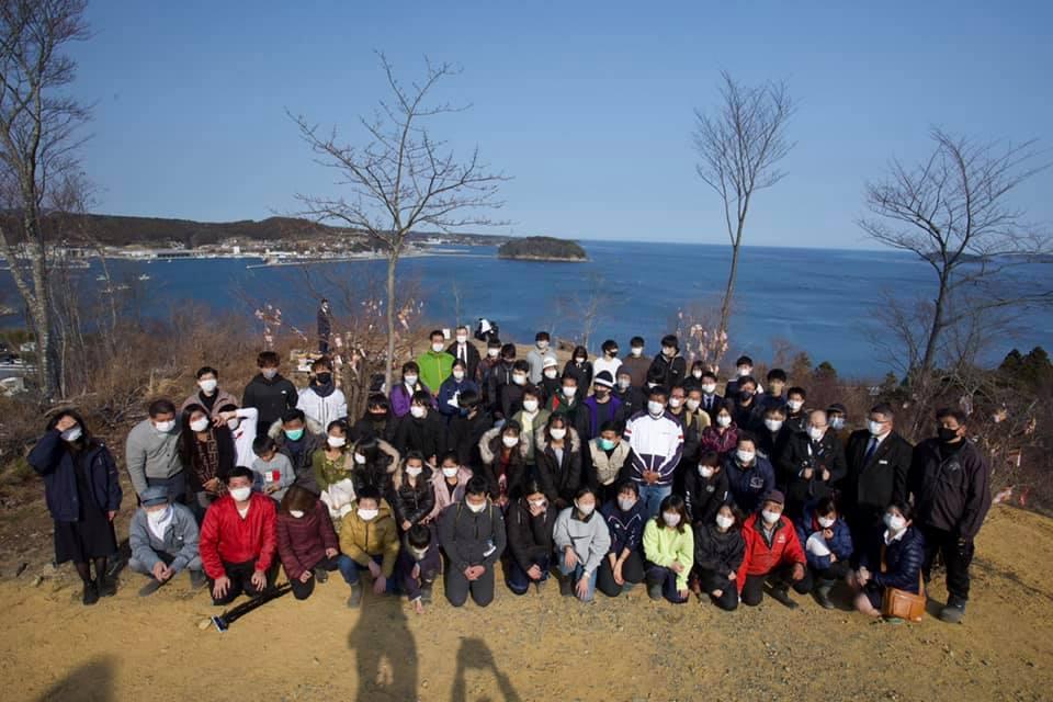 南三陸町「海の見える命の森」2021・3.11